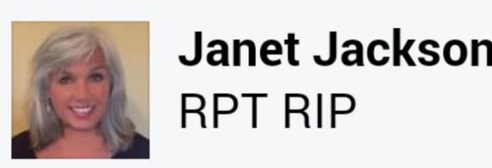 Janet Jackson RIP